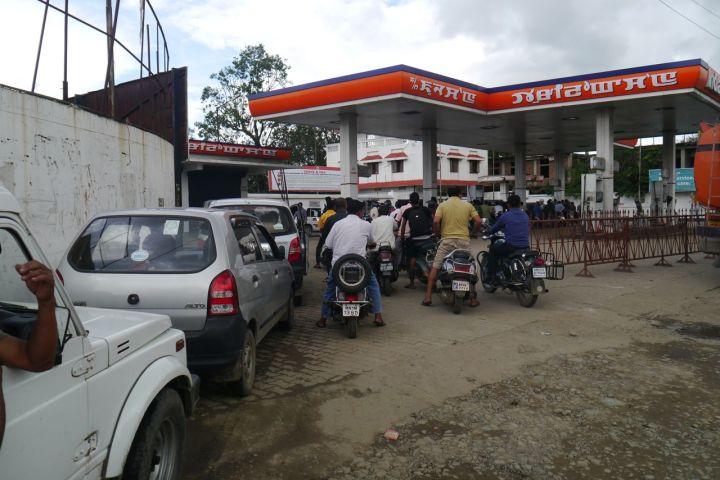 gas queue