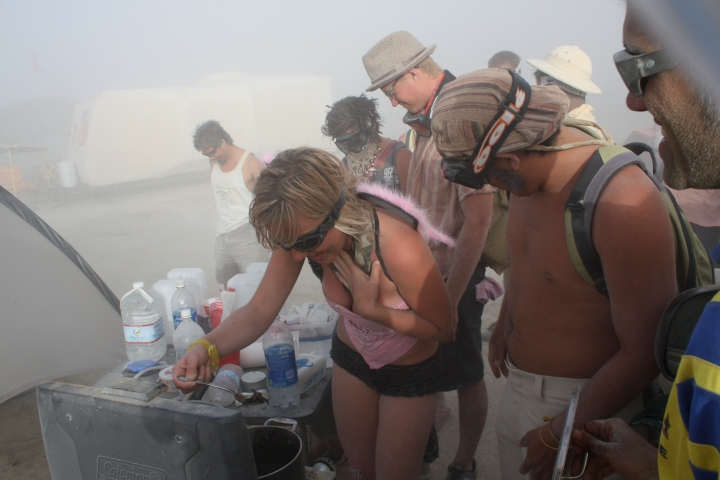 Burning Man Black Sotong 2
